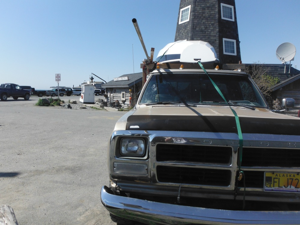 The trusty spud hauled us all the way to homer.  She burned $50.00 in fuel and $15.00 in oil!