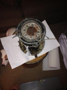 An old Autopilot compass
