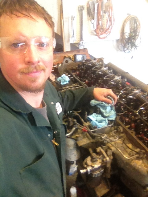Working in Juneau Alaska as a mechanic.  Spring 2014