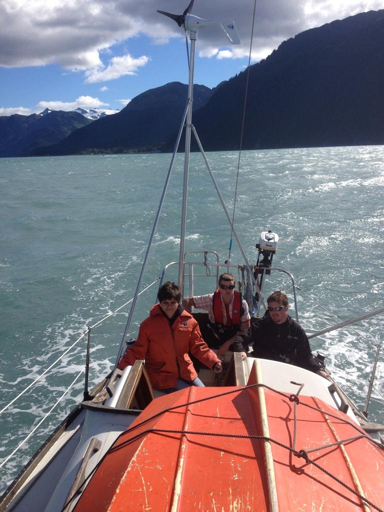 Sailing Resurrection Bay