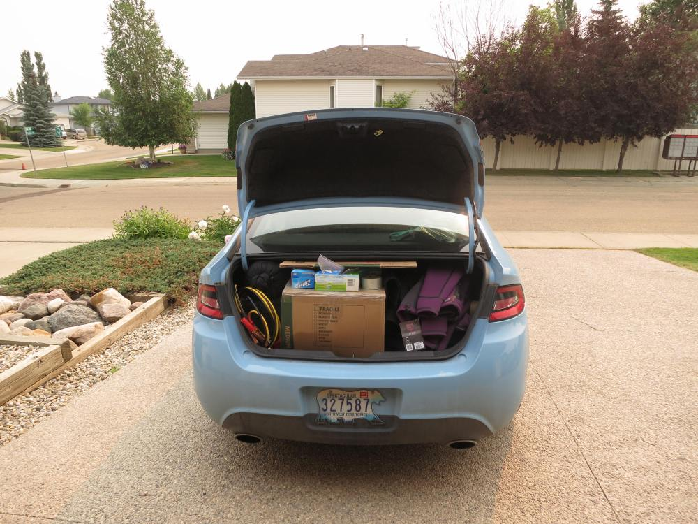 "Loading up ""Nellie"" in Edmonton Canada"
