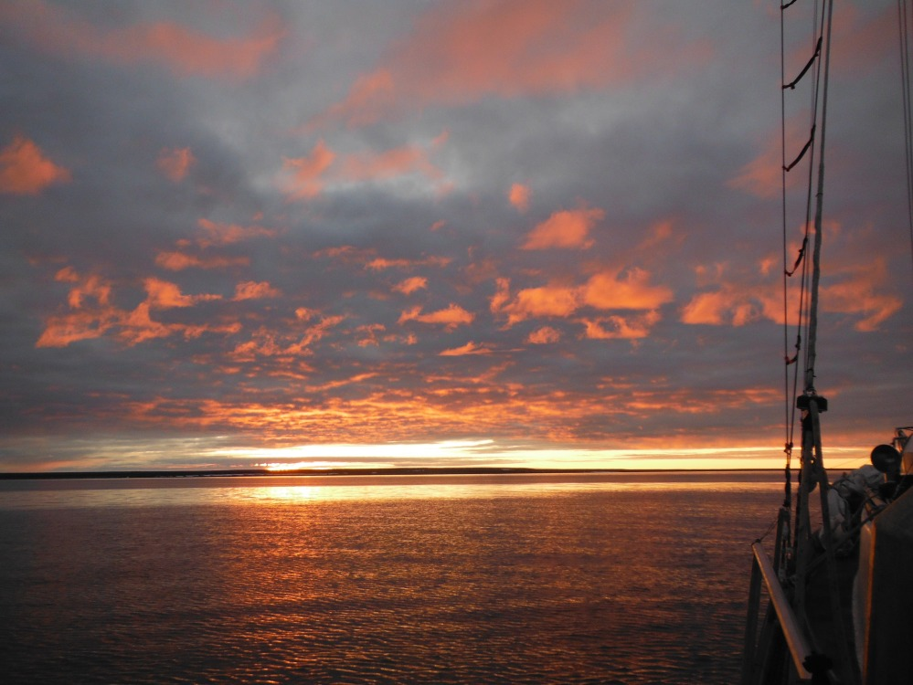 Arctic sunsets...