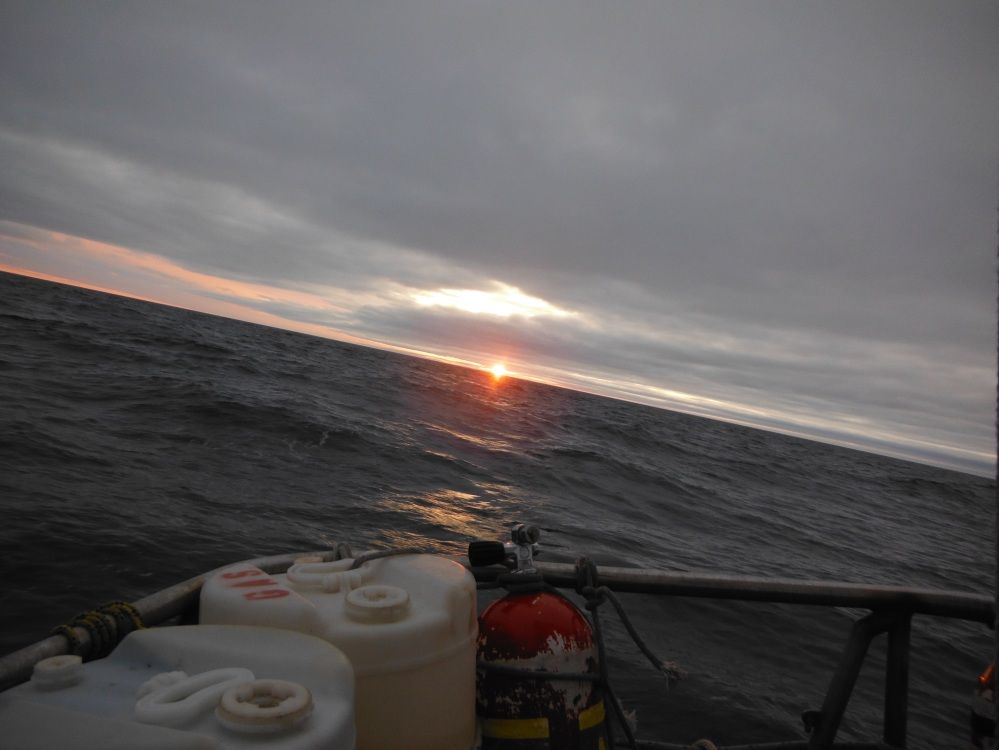 Sailing from Cambridge Bay
