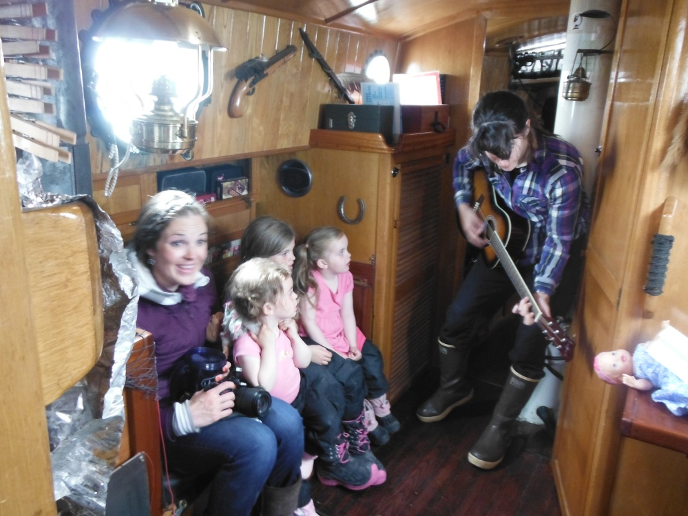 The Coote family aboard Empiricus