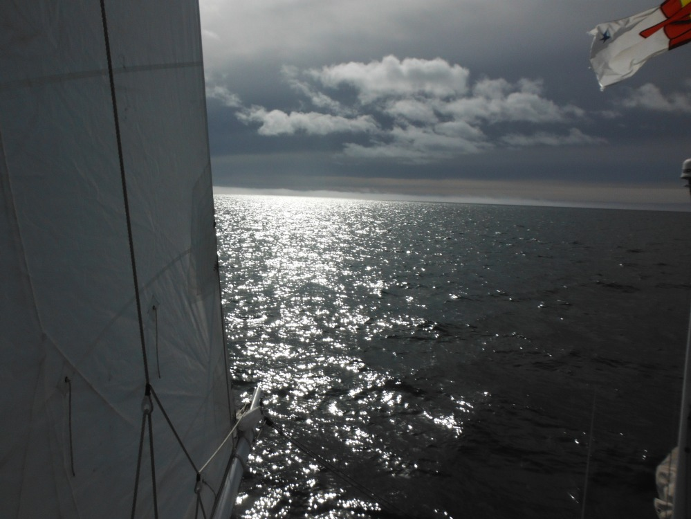 A view from the rigging.