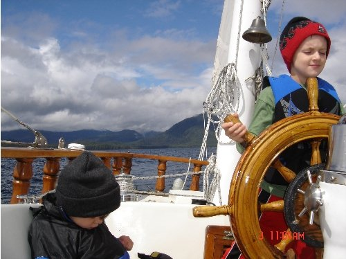 One of our first trips aboard Empiricus.