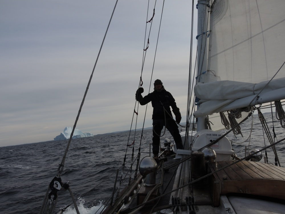Enjoying our final sail of 2014 aboard Empiricus.
