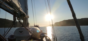 Empiricus entering Bellot Strait.