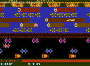 Old School Frogger Game