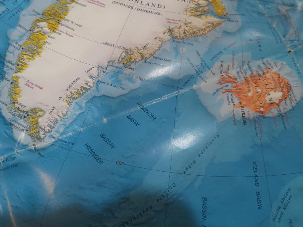 A romp across the North Atlantic ocean, to beautiful Iceland!